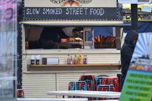 Food truck in London - Shoreditch