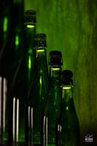 Caves GH MUmm, les différents contenants des bouteilles de champagne