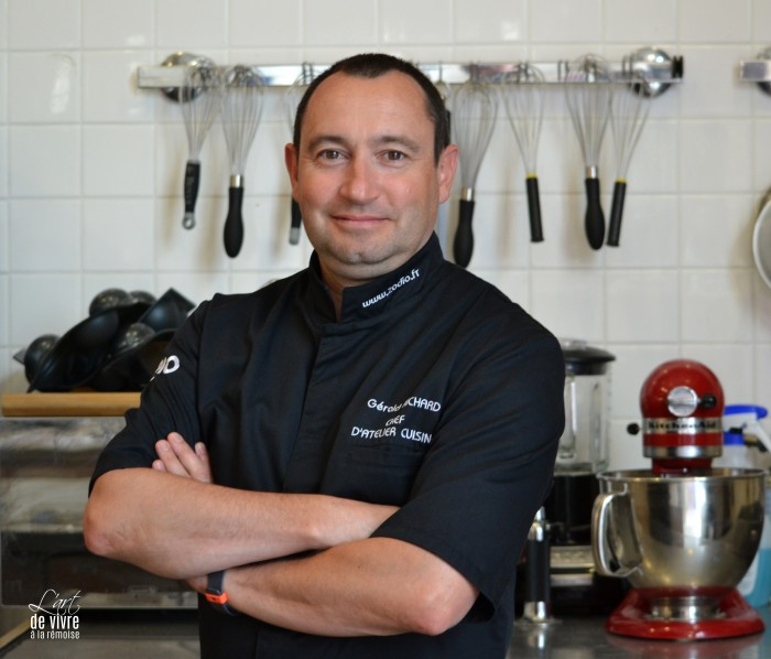 Gerald chef des ateliers cuisine zodio art de vivre for Zodio cours cuisine