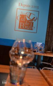 Au cul de Poule, l'une des références de la gastronomie rémoise.
