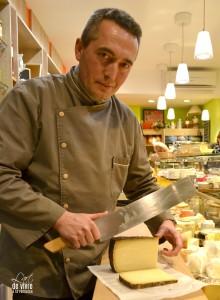 Christophe Charlet, artisan fromager