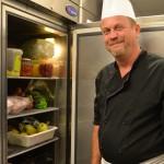 le frigo remplit de produits frais