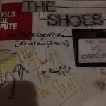 The shoes, à la Carto, aime la cuisine de Dany