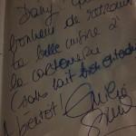 emilie simon a la Carto  de Reims a aimé la cuisine de Dany