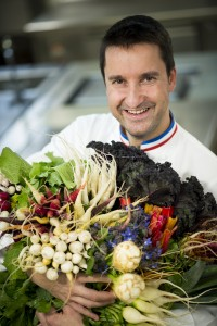 Philippe Mille, chef étoilé domaine les crayeres, reims