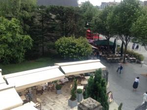 la terrasse de la brasserie Flo