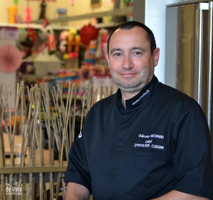 Gerald Chef Des Ateliers Cuisine Zodio Art De Vivre A La Remoise