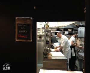 Christophe Mertes, chef du VO, en cuisine